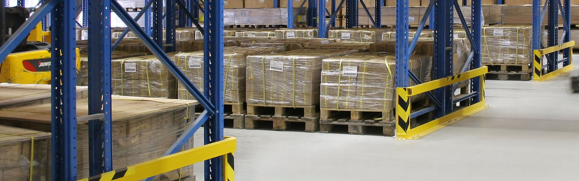 STRATEGICALLY LOCATED WAREHOUSES